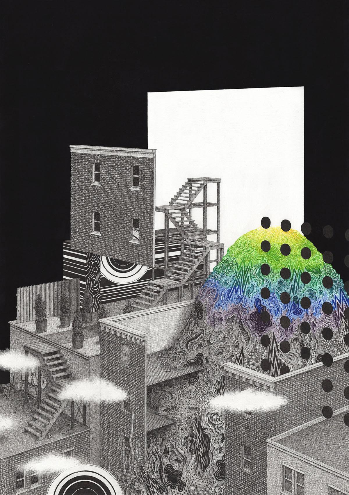 Desenhos fantástico de Ben Tolman Artes & contextos Tolman2