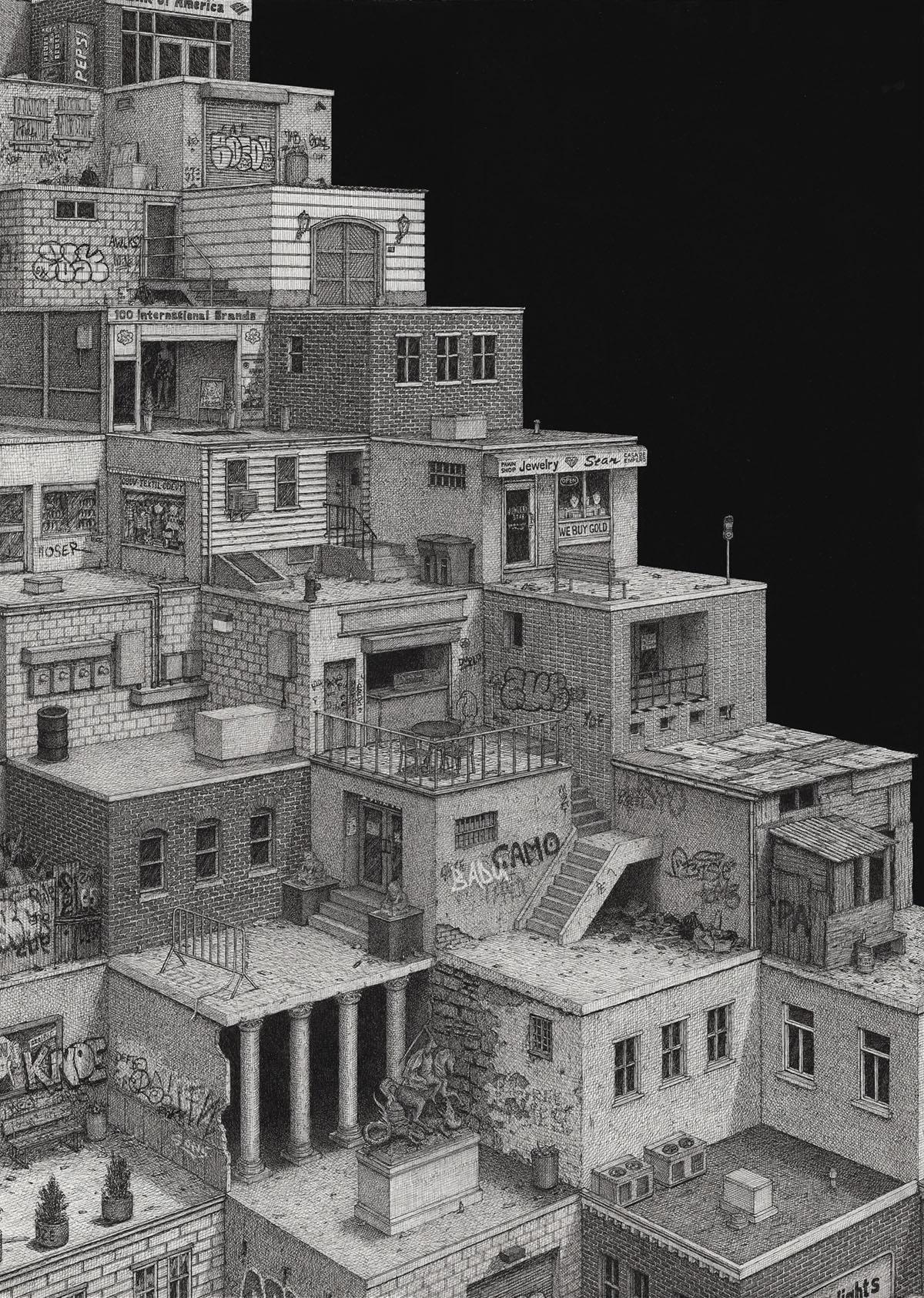 Desenhos fantástico de Ben Tolman Artes & contextos Tolman8