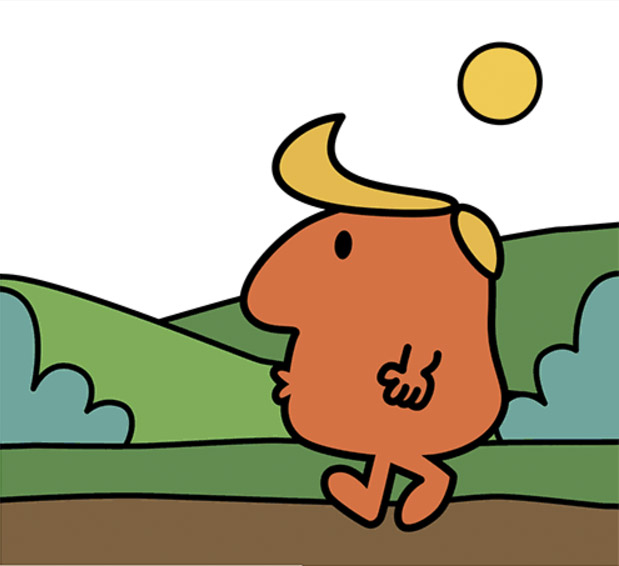 The Story Of Trump Told In The Style Of Roger Hargreaves