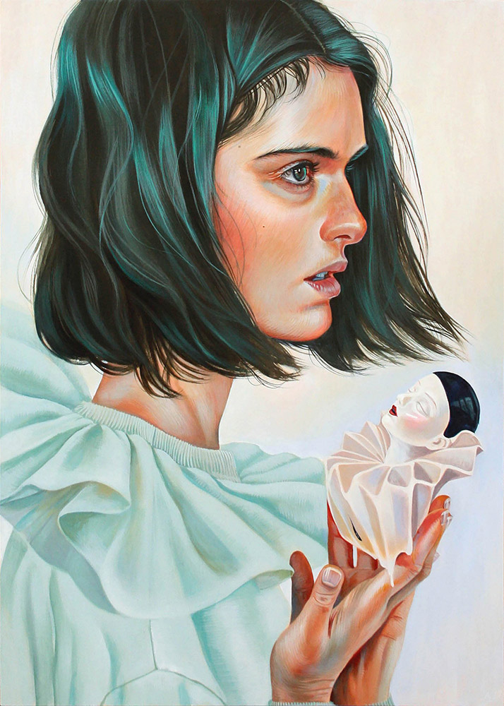 """Something's Wrong"" by Artist Martine Johanna – BOOOOOOOM! – CREATE * INSPIRE * COMMUNITY * ART * DESIGN * MUSIC * FILM * PHOTO * PROJECTS"