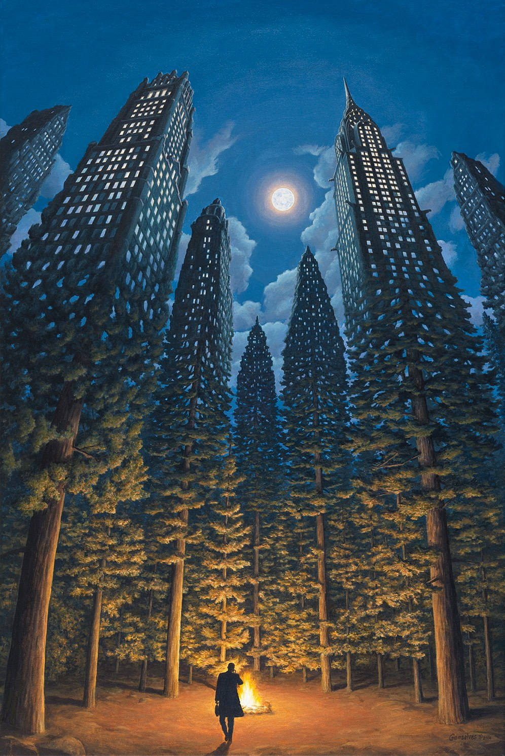 Optical Illusion Paintings by Artist Robert Gonsalves – BOOOOOOOM! – CREATE * INSPIRE * COMMUNITY * ART * DESIGN * MUSIC * FILM * PHOTO * PROJECTS