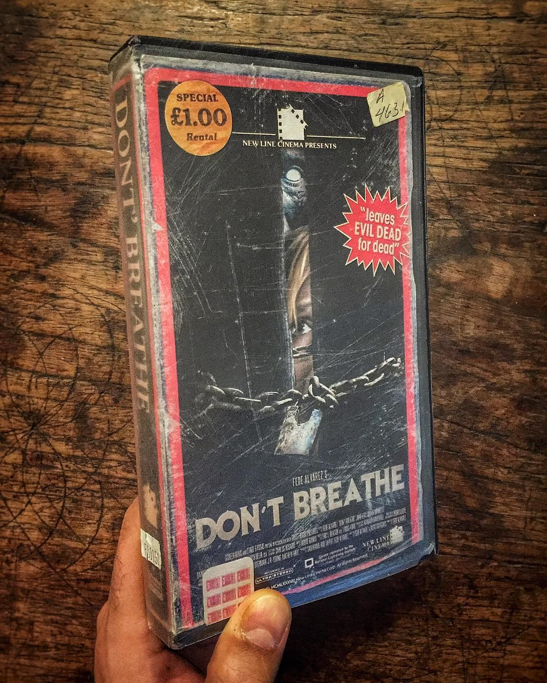instagram of the day artist creates vintage vhs versions