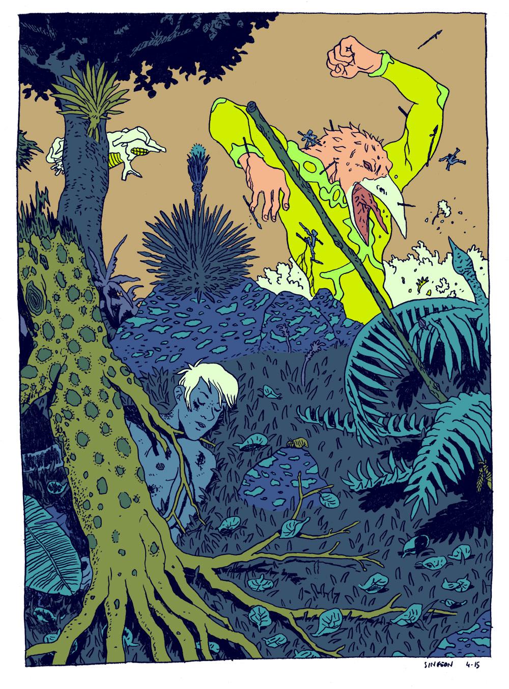 Illustrator Spotlight: Vincent Giard + Singeon Artes & contextos vincent giard singeon10