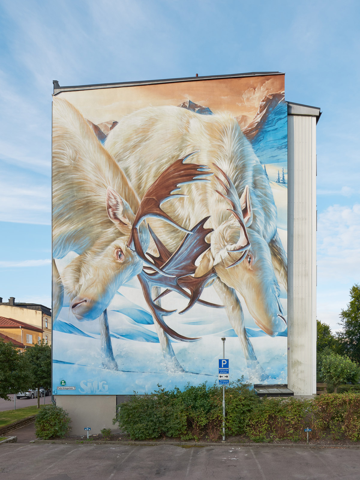 Murals From Artscape S White Moose Project Booooooom