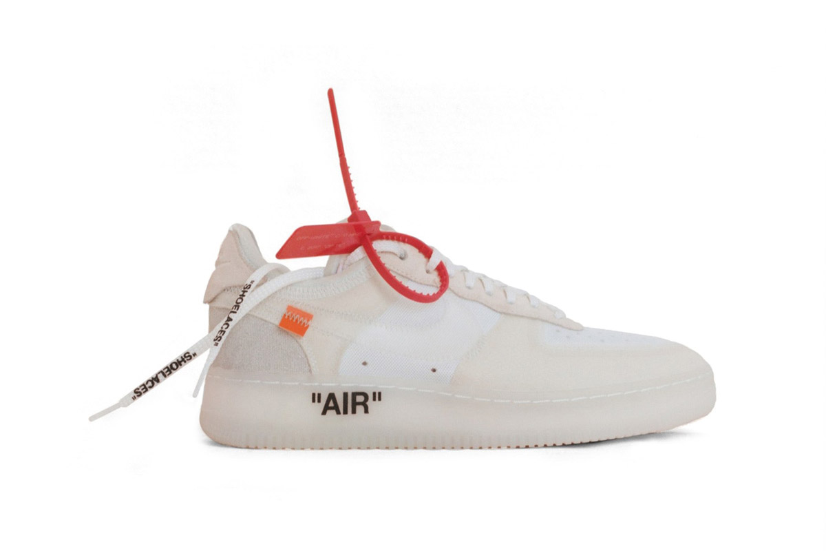 Designer Virgil Abloh Reconstructs 10 Iconic Nike Shoes
