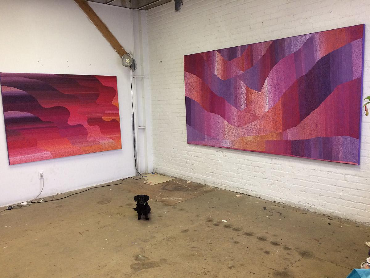 Jean Nagai's studio