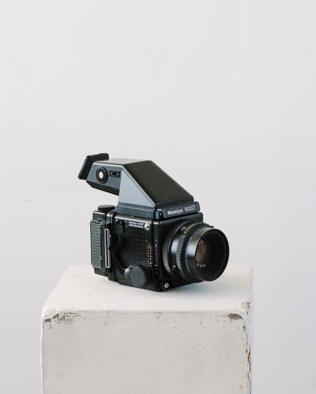 Camera Stories: Grady Mitchell and his Mamiya RZ67