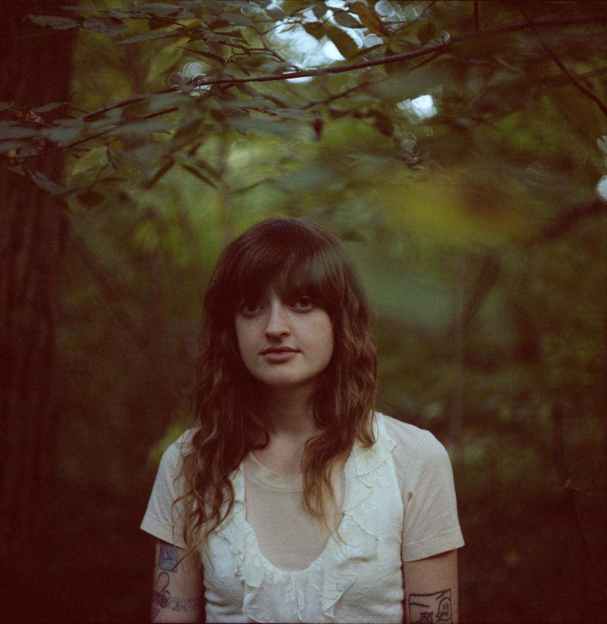 1/250 (maybe), f2.8, Kodak Portra NC 400, Pentagon Six TL - portrait of Charlotte by Elizabeth Weinberg