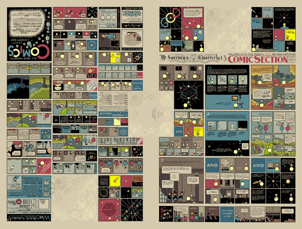 chris ware - evan pricco, juxtapoz