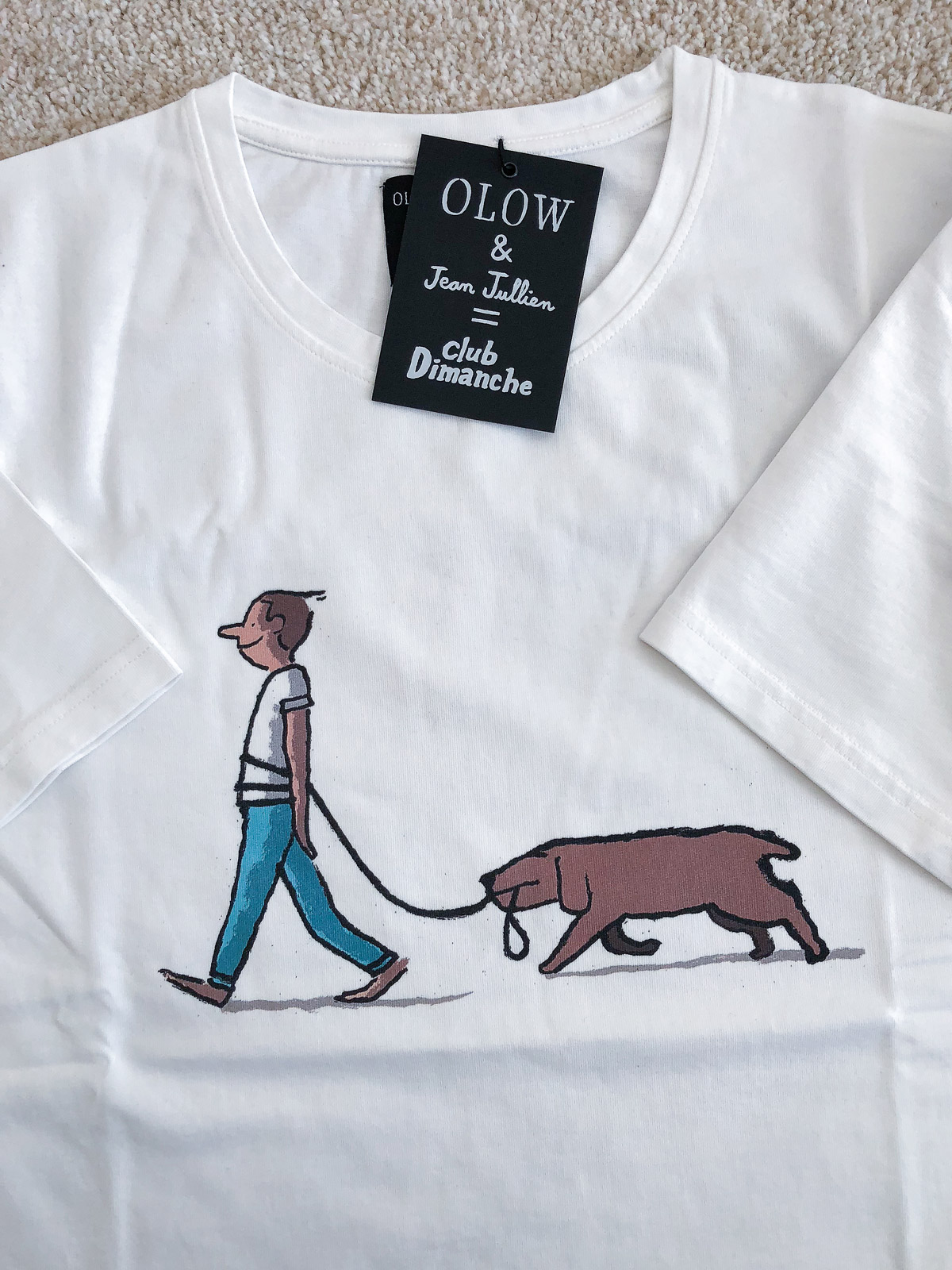 "OLOW x Jean Jullien – ""Club Dimanche"" Capsule Collection"