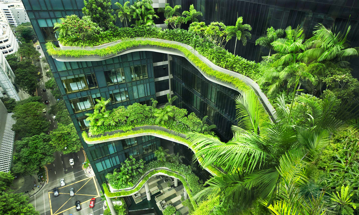 Parkroyal on Pickering, hotel in Singapore.