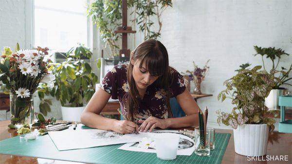 Skillshare class by Gemma O'Brien
