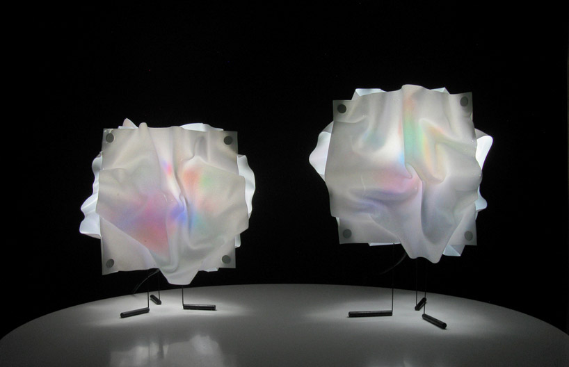Iridescent Lamps by Architect and Designer Taeg Nishimoto ...