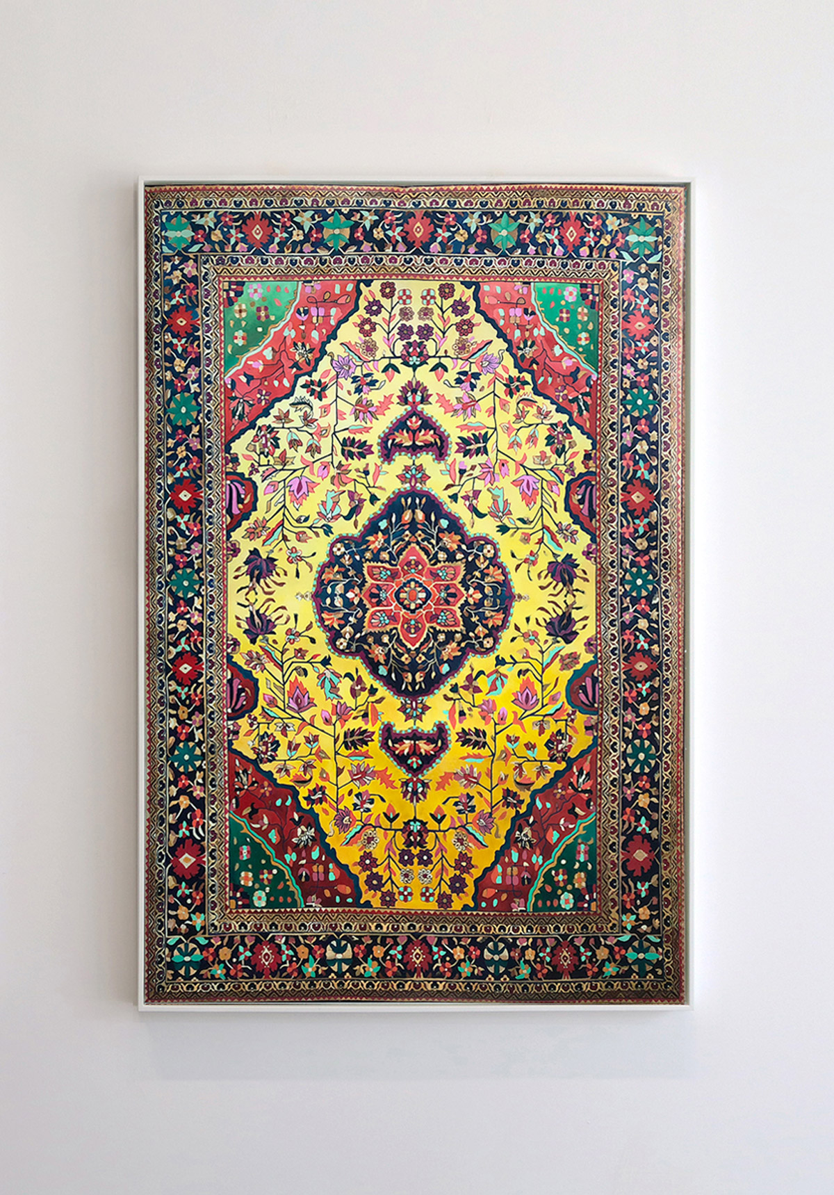 Obsessively Detailed Rug Paintings By Jason Seife