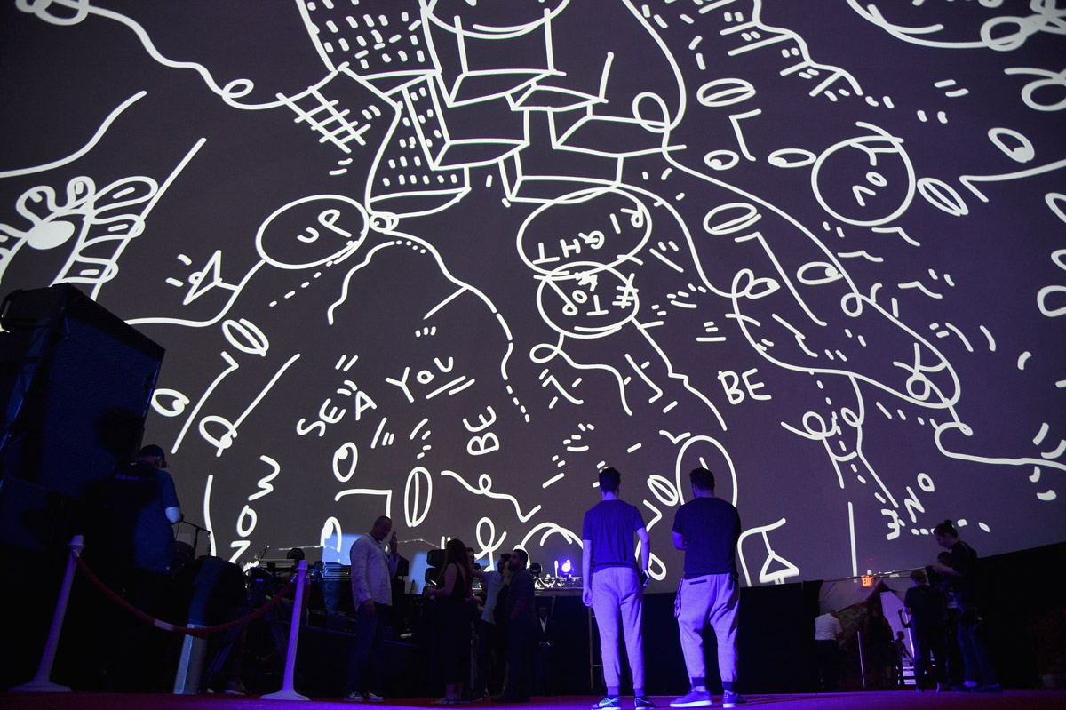 Artist Shantell Martin — photo by Bryan Bedder