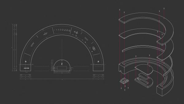 Projet Dial : Deafness-inspired interactive installation