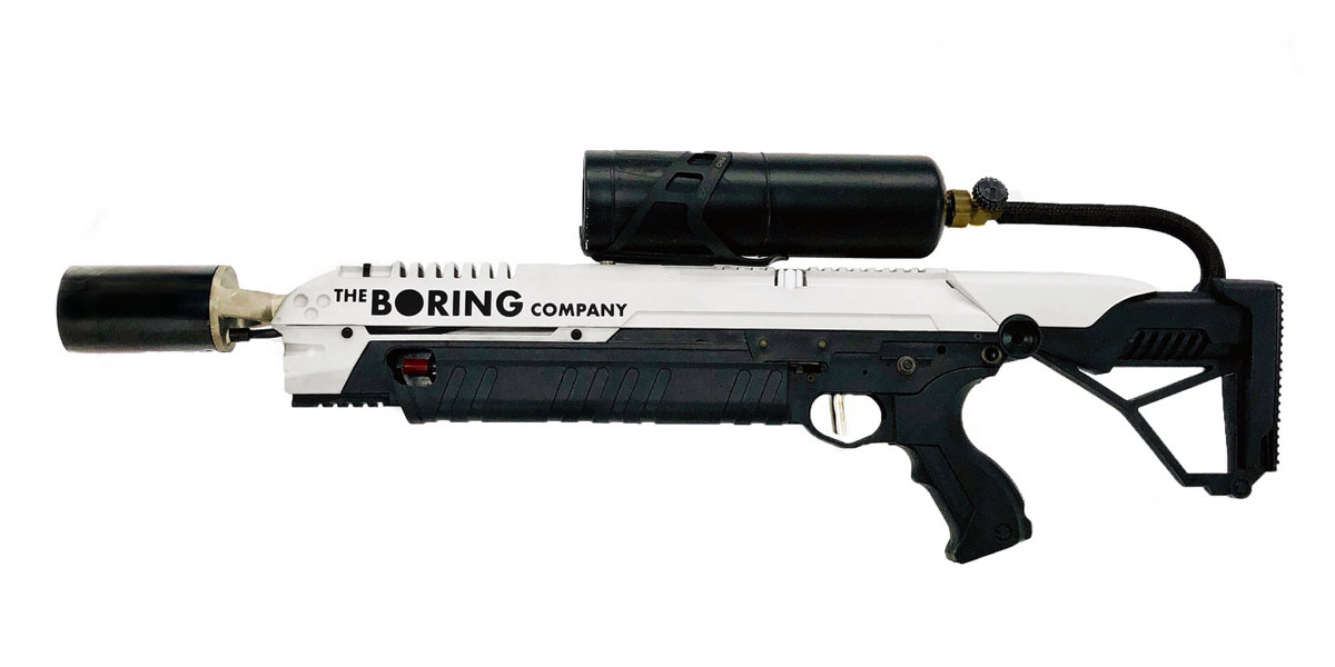 Elon Musk Boring Company Flamethrower