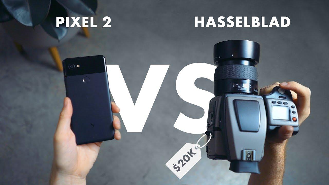 Google Pixel 2 XL Phone vs Hasselblad