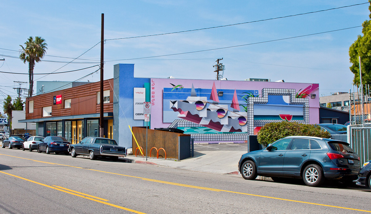 1733 Abbott Kinney Boulevard, Venice — with the help of Dan from Londongraffiti