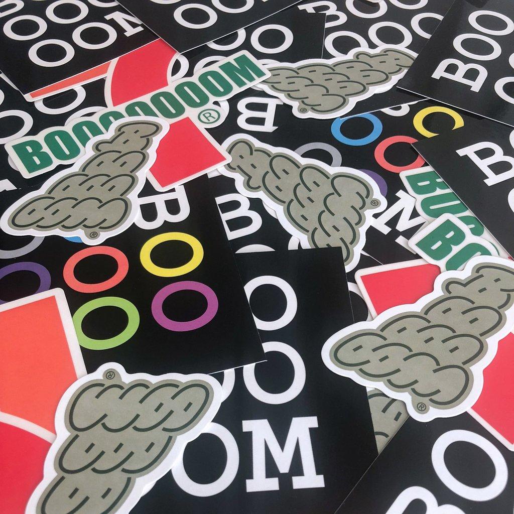 Booooooom Stickers