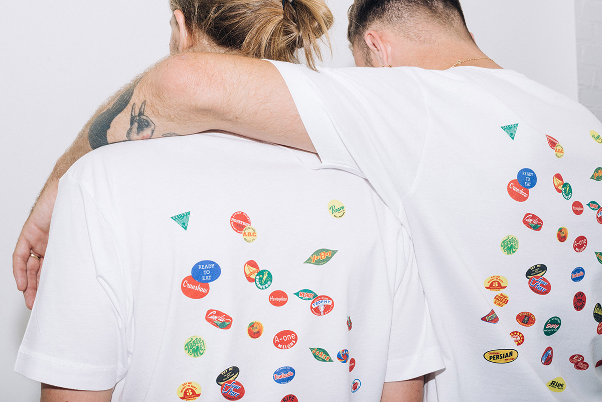 T-Shirt of the Day: Fruit Stickers x Everpress – BOOOOOOOM