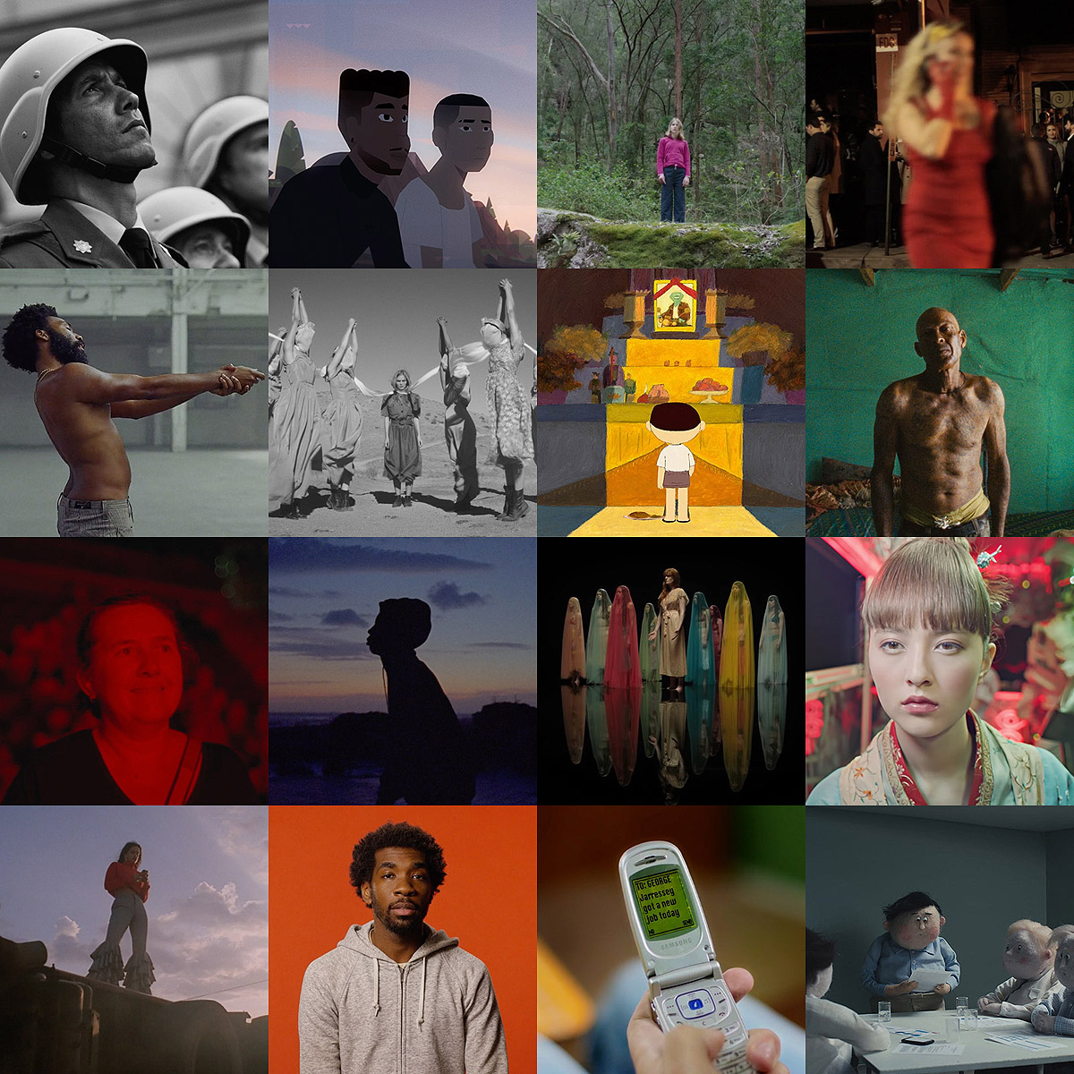 Best music videos, short films, animation of 2018